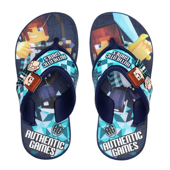 f21937c679 Chinelo Infantil Authentic Games Masculino - Compre Agora