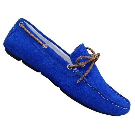 3e68cde449 Mocassim Sartre Pretória - Azul - Compre Agora