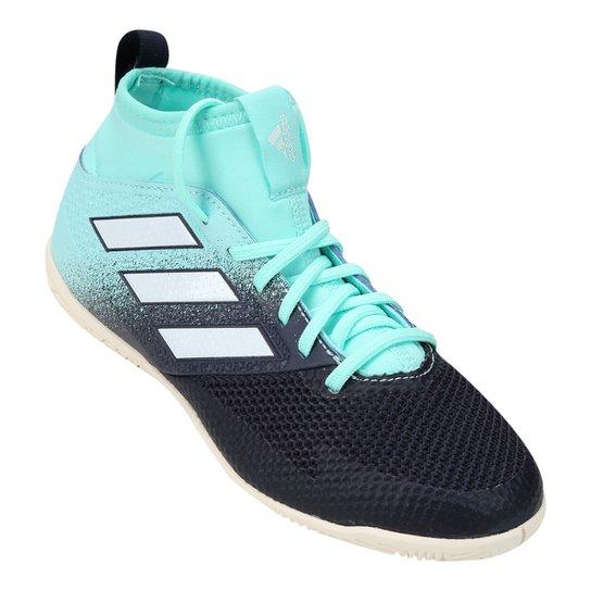 59f8fe44d2 Chuteira Futsal Infantil Adidas Ace 17.3 IN - Azul+Preto