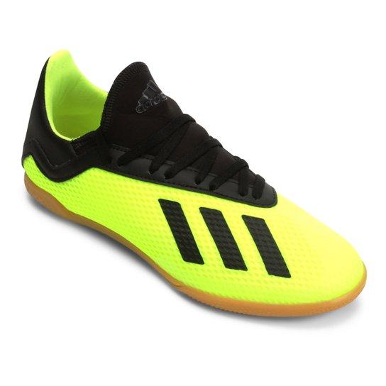 0a6cac5c91267 Chuteira Futsal Infantil Adidas X Tango 18 3 IN - Amarelo+Preto