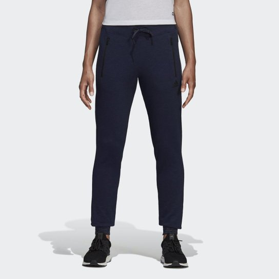 daab54a38d6 Calça Adidas ID Feminina - Azul - Compre Agora