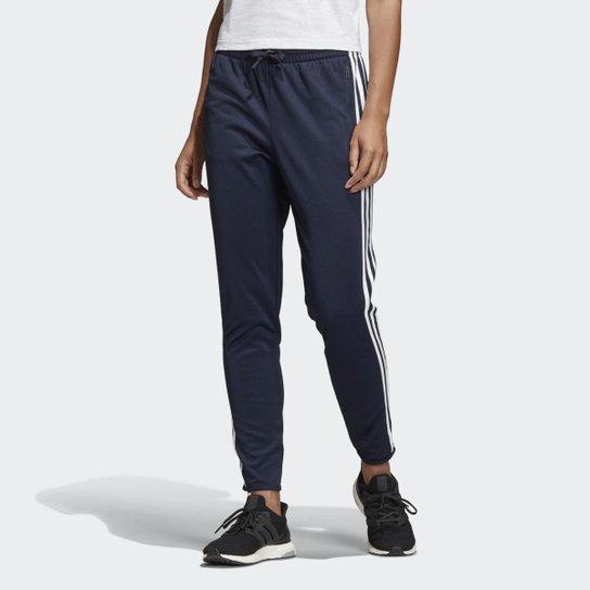 b76179c3a Calça Adidas ID Striker Feminina - Azul - Compre Agora