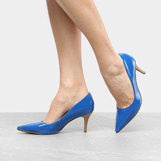 e84dd829e3 Scarpins Bebecê Feminino Azul - Calçados