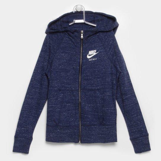 Jaqueta Nike G Nsw Vntg Hoodie Fz c  Capuz Infantil - Compre Agora ... d0140220a8f00