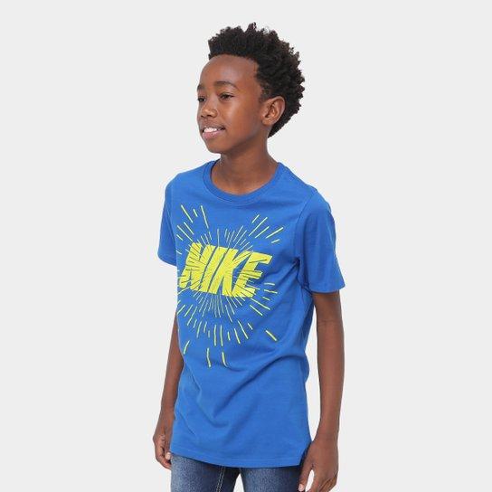 19010d2cf Camiseta Infantil Nike B Nsw Space Block Masculina - Compre Agora ...