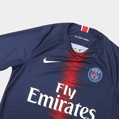 95d129e032 Camisa Paris Saint-Germain Home 18/19 s/n° Torcedor Nike Masculina ...