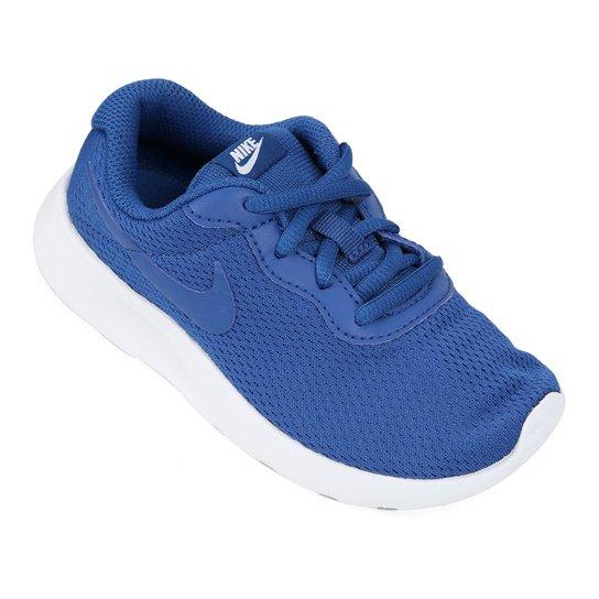 52cd0295bb6 Tênis Infantil Nike Tanjun Feminino - Azul - Compre Agora