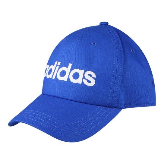 b9738c7291 Boné Adidas Aba Curva Daily Masculino - Azul - Compre Agora