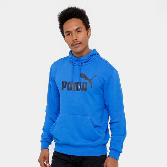 4eb983e619 Moletom Puma Ess No.1 Hoody Tr Masculino - Azul - Compre Agora