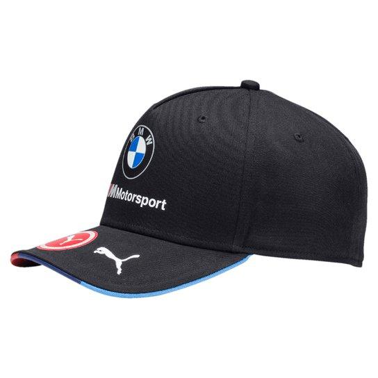 Boné Puma Aba Curva BMW Team - Marinho - Compre Agora  d69fdf2b9d8