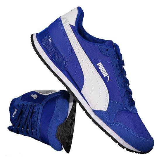 5de0fb6ddbf Tênis Puma ST Runner V2 NL Masculino - Azul - Compre Agora
