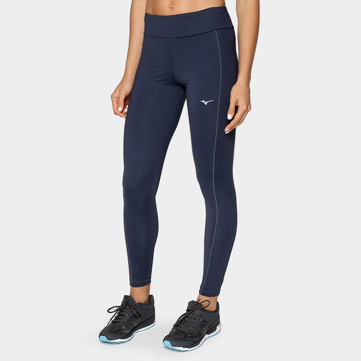 Calça Legging Mizuno Prorunner Com Proteção UV Feminina