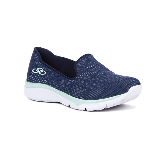 9e0c74be07a Tênis Olympikus Slip On Feminino - Azul - Compre Agora