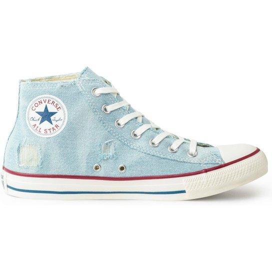 f404d245af Tênis Converse Chuck Taylor All Star Hi Masculino - Azul - Compre ...