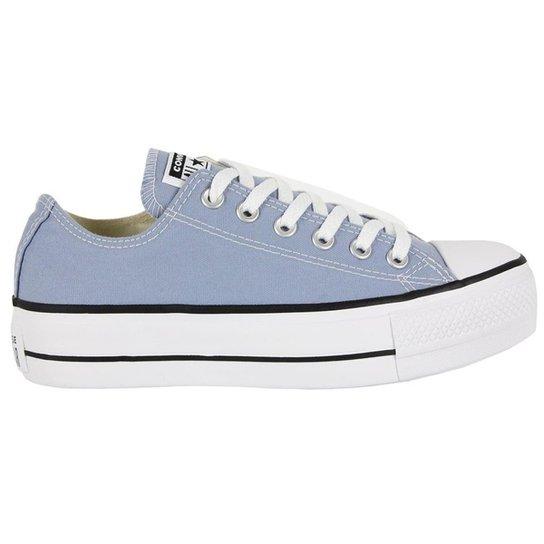1f6254450f Tênis Converse Chuck Taylor All Star Feminino - Azul - Compre Agora ...