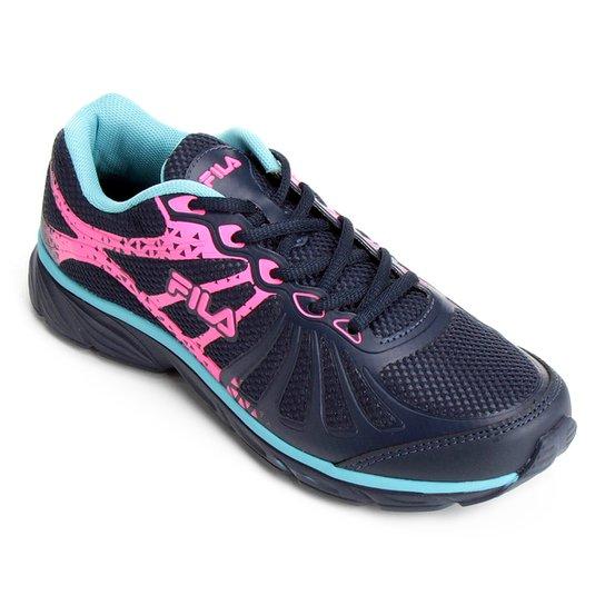 90e3406892a Tênis Fila Allure Feminino - Azul - Compre Agora