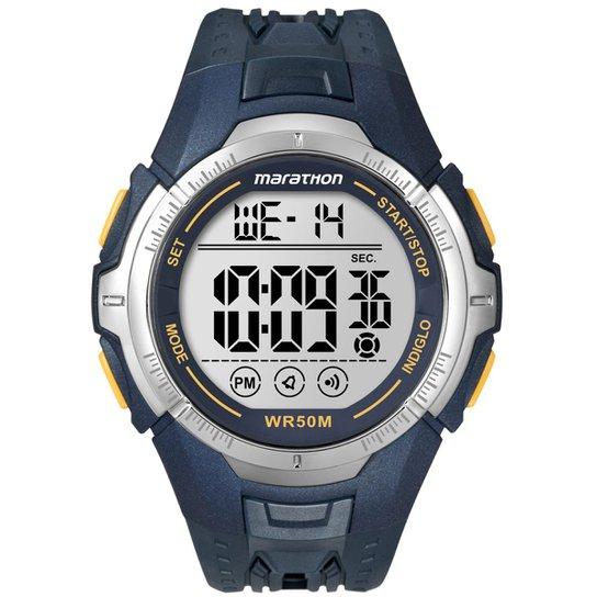 1e6ae95b07060 Relógio Timex Marathon T5K355 TN Azul T5K355 TN - Compre Agora