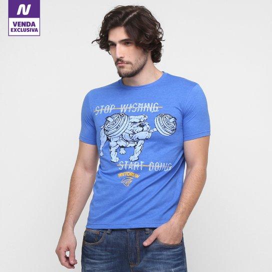 Camiseta Pretorian Stop Whishing Masculina - Compre Agora  2494a8339b19d