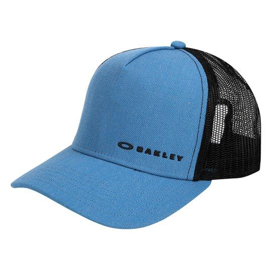Boné Oakley Aba Curva Mod Chalten Cap Masculino - Azul - Compre ... 6b5cb47594256
