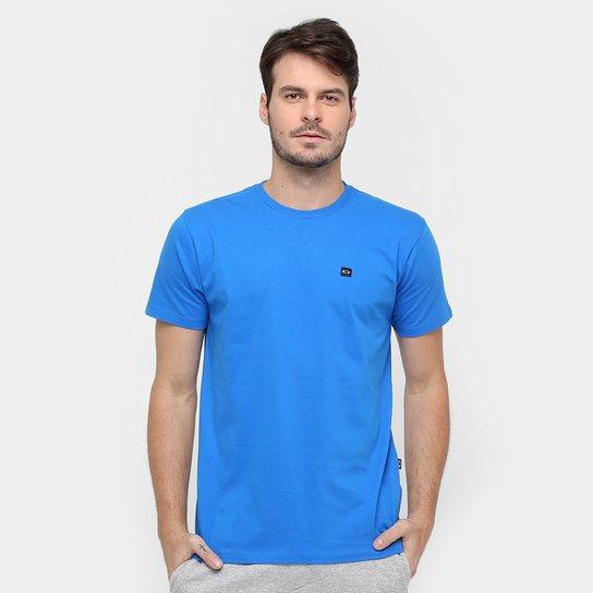 7a84f884b3003 Camiseta Oakley Patch Masculina - Azul - Compre Agora   Zattini