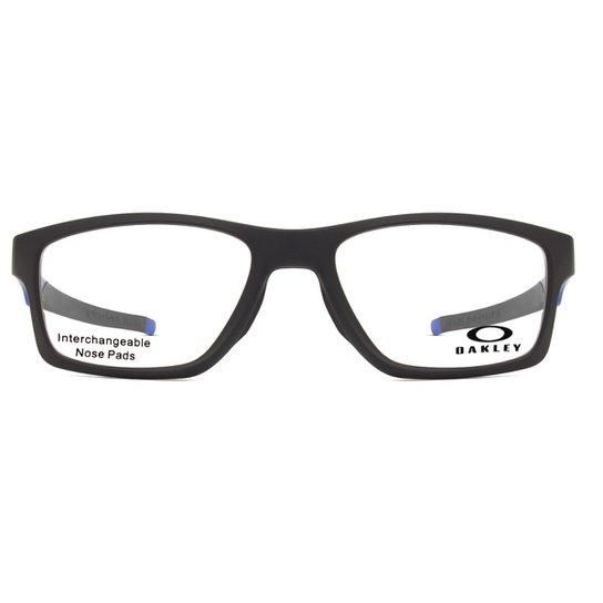 cd6fdf35070fb Armação Óculos de Grau Oakley Crosslink MNP OX8090 09-55 - Compre ...