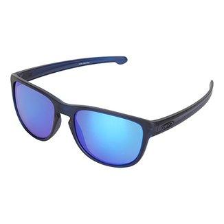 Óculos De Sol Oakley Translucent Silver Masculino 7f8e6386c7