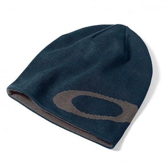 Gorro Oakley Mainline Beanie - Azul - Compre Agora  6342afafaeb