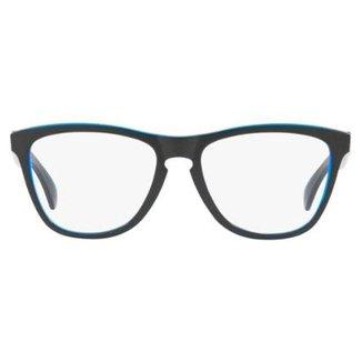 17bed6012079e Armação Óculos de Grau Oakley Rx Frogskin 0OX8131 03 54