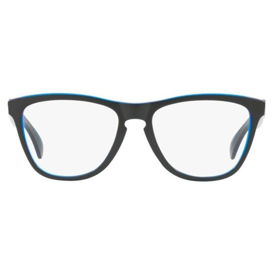 87ad548eb Armação Óculos de Grau Oakley Rx Frogskin 0OX8131 03/54 - Azul | Zattini