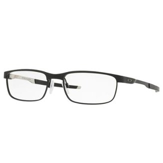 Óculos Oakley de Grau Steel Plate Masculino 7ac9e659c7