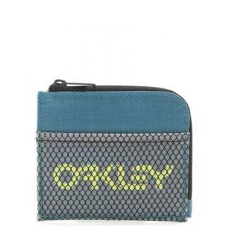 1c14e175d Carteira Oakley 90 s Zip Small Wallet