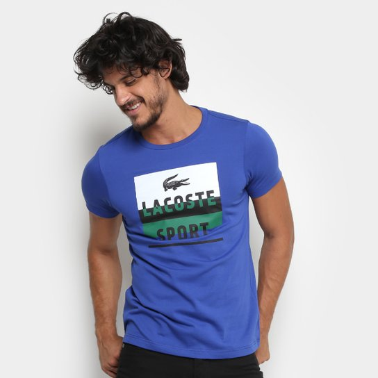 Camiseta Lacoste Masculina - Compre Agora  3fb42a9c68