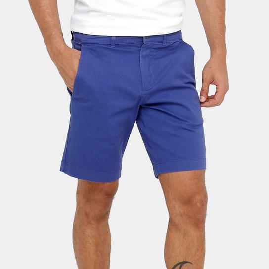 Bermuda Lacoste Regular Fit Sarja Color Masculina - Compre Agora ... e5c3e0b210
