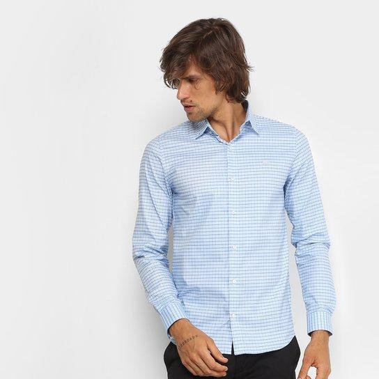 Camisa Xadrez Lacoste Slim Fit Masculina - Compre Agora   Zattini d1600c3e3e
