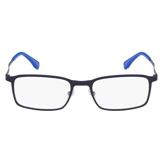 9bd6d7a6ba75a Armação Óculos de Grau Lacoste L2240 424 52 - Azul - Compre Agora ...