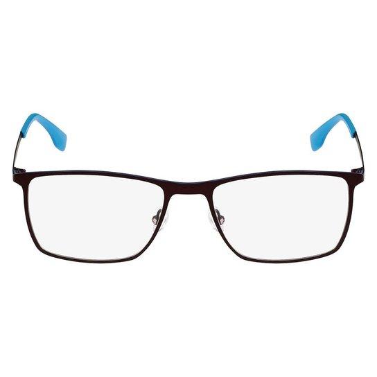 efed3565032f7 Armação Óculos de Grau Lacoste L2223 615 56 - Azul - Compre Agora ...
