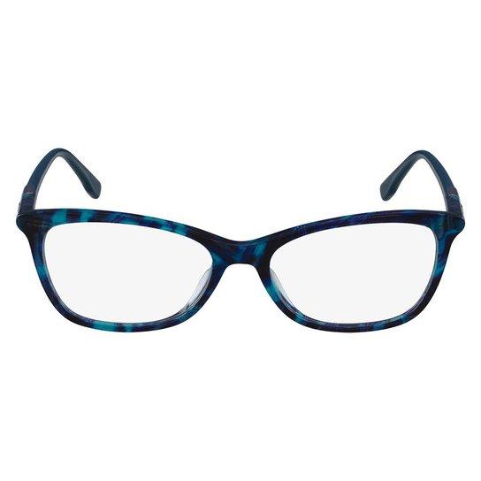 22ed8a3187512 Armação Óculos de Grau Lacoste L2791 001 54 - Azul - Compre Agora ...