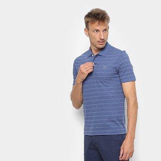 c4b3350932a60 Camisa Polo Lacoste Listrada Masculino