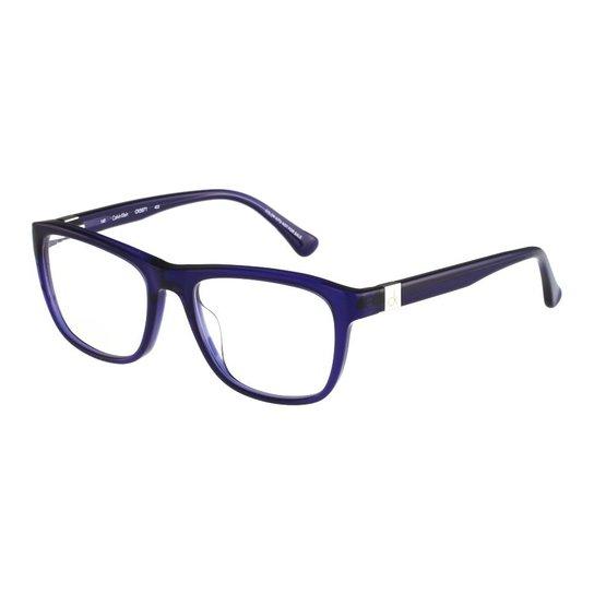 7af8a2dc842ad Óculos de Grau CALVIN KLEIN Casual - Azul - Compre Agora   Zattini