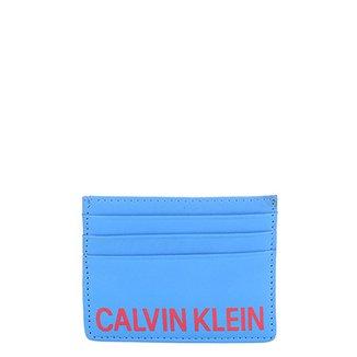 89f199c5a Carteira Couro Calvin Klein Bicolor Masculina