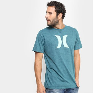 382928b148286 Camiseta Hurley Silk Icon Color Masculina