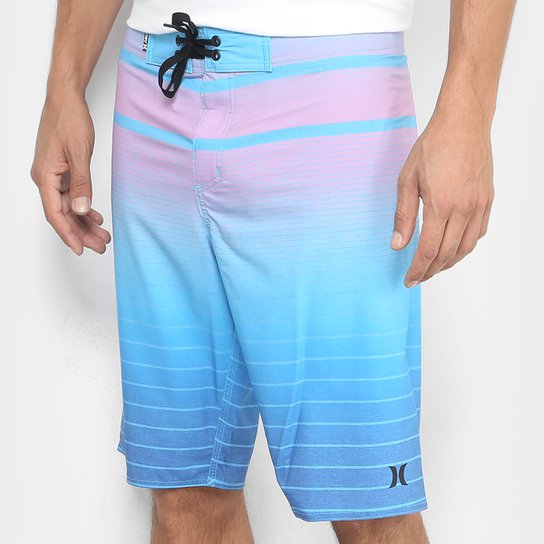 12a7117214102 Bermuda Hurley Agua Adms Masculina - Compre Agora   Zattini