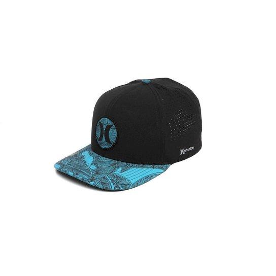 ee1c292b56f6a Boné Hurley Phantom Lush Preto - Azul - Compre Agora