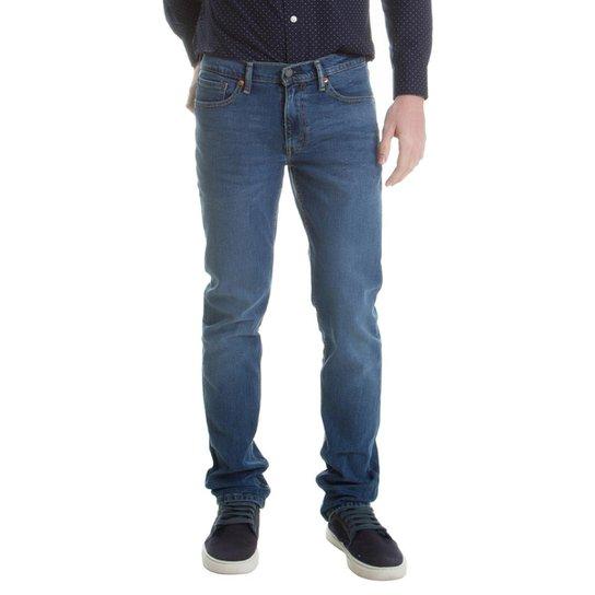 aa76fbe48 Calça Jeans Levi s 511 Slim Masculina - Azul - Compre Agora