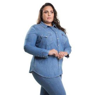ff1e166f6073a Camisa Levis Feminino Western Plus Size