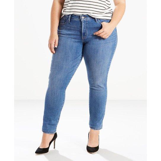 f921592798774 Calça Jeans 311 Shaping Skinny Plus Size Levis - Azul - Compre Agora ...