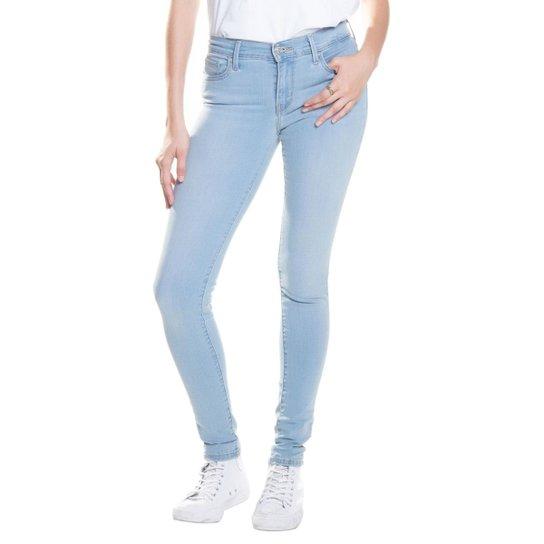 Calça Jeans 710 Super Skinny Levis - Azul - Compre Agora  c56159e3d82