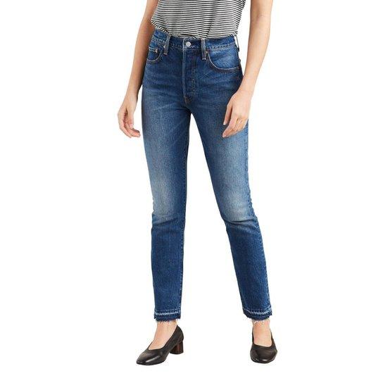 0263a501aa64d Calça Jeans Levis Women 501 Skinny - Azul - Compre Agora   Zattini
