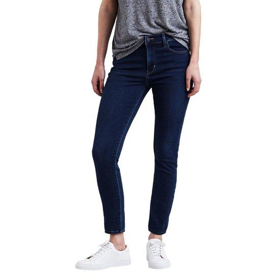 fe3e3e651 Calça Jeans Levis 720 High Rise Super Skinny Escuro - Compre Agora ...