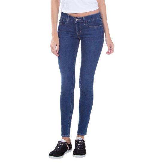 Calça Jeans Levis 710 Super Skinny Feminina - Azul - Compre Agora ... 185819565a8